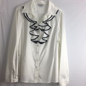 TAHARI Levine Career Blouse